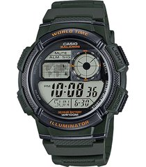 reloj  verde casio youth series