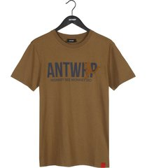 antwrp t-shirt monkey bark brown