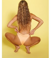 hanna schönberg x na-kd återvunnen rynkad bikinitrosa - orange