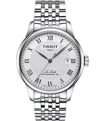 reloj tissot le locle powermatic 80 automatic t006.407.11.033.00 hombre