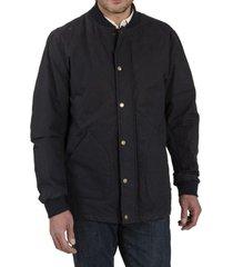 chaqueta algodón bombers azul petróleo rockford