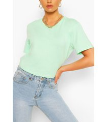 oversized crew neck t-shirt, mint