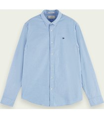 scotch & soda klassiek oxford overhemd | regular fit