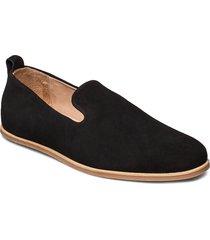 evo suede loafer loafers låga skor svart royal republiq