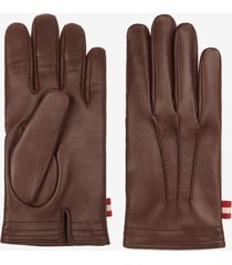 leather gloves brown 42.5