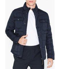 premium by jack & jones jprlambert quilt jacket jackor mörk blå