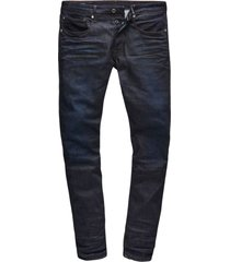 jeans 3301 straight tapered fit dark aged (51003-7209-89)