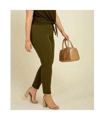 calça plus size legging feminina