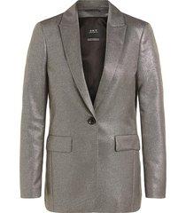 metallic blazer danino  metallic