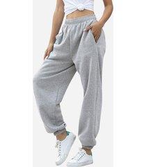 pantalon modern jogger gris claro changes label