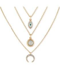 rachel rachel roy gold-tone 3-pc. set pendant necklaces