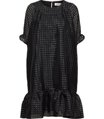 genzi dress jurk knielengte zwart modström