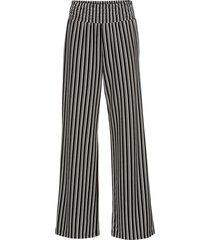 pantaloni a palazzo in jersey compatto (nero) - bodyflirt