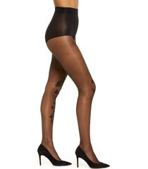 women's natori marilyn embroidered sheer tights