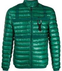 colmar padded ribbed jacket - green