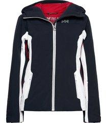 w majestic warm jacket outerwear sport jackets blå helly hansen