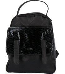 cartera mochila areta casual negro azaleia