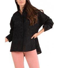 blusa algodón orgánico aruba negro rockford