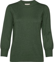 mersin knit tee stickad tröja grön minus