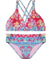 bikini teens uv30 triángulo composé h2o wear