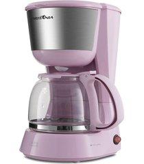 cafeteira britânia bcf18 inox rosa 18 cafézinhos 127v