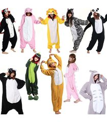 unisex pyjamas adult animal kigurumi  pajamas sleepwear party gifts new smlxl