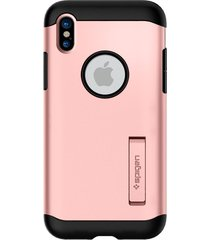 estuche protector spigen iphone x/xs - rosado