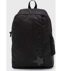 mochila negra converse speed 2