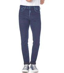 calça jeans convicto slim corrosão - kanui