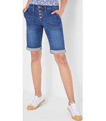 multi stretch jeans bermuda