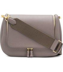 anya hindmarch vere soft satchel - grey