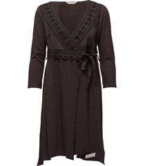 get-a-way l/s dress knälång klänning grå odd molly