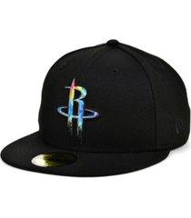 new era houston rockets tie dye thread cap