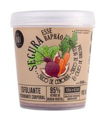 esfoliante corporal lola cosmetics - segura esse baphão suco de cenoura 250ml