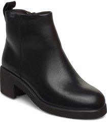 wonder shoes boots ankle boots ankle boot - heel svart camper