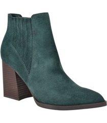marc fisher ellard pointy toe bootie women's shoes