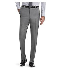 1905 navy collection slim fit flat front men's suit separates pants by jos. a. bank