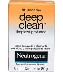 sabonete facial neutrogena deep clean 80g incolor