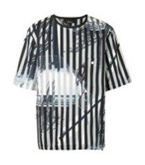 3.1 phillip lim camiseta roadster com estampa - cinza