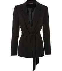 blazer con cintura (nero) - bodyflirt