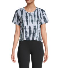 nanette lepore women's tie-dyed tee - carbon - size xl