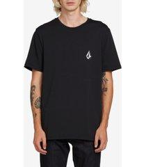 volcom men's deadly stone short sleeve t-shirt