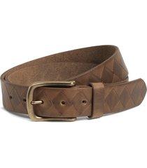 men's trask douglas leather belt