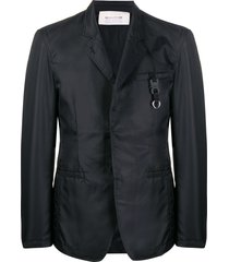 1017 alyx 9sm single-breasted fitted blazer - black