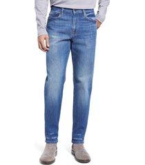 frame l'homme athletic slim fit jeans, size 40 in rivertown at nordstrom