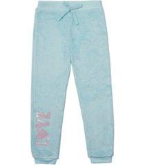 epic threads toddler girls tie waist minky jogger