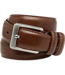 men's wearhouse cognac boy's leather belt