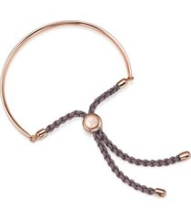 fiji friendship petite bracelet, rose gold vermeil on silver