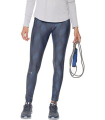 leggings azul under armour legging metallic