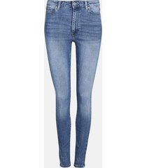 high waist hailey jeans - denim